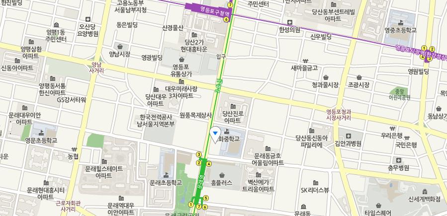 서울시 영등포구 문래로121(문래동3가 48-3번지) 남부교육지원청 2층 남부Wee센터
